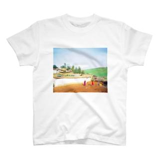 モロッコ:農村の風景 Morocco: Country side T-shirts