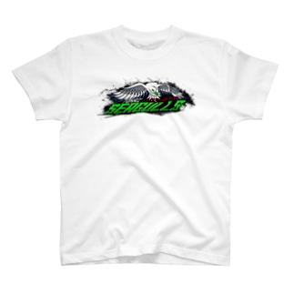 東海シーガルズ Over The Top 公式 T-shirts