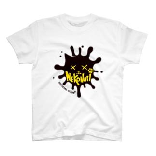 ネコヌリ オフィシャルロゴ Tシャツ T-shirts