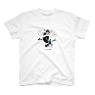 ザリガニさんと威嚇する T-shirts