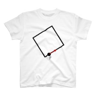 うごく点P T-shirts