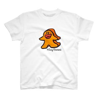 ミープル・オレンジ T-shirts