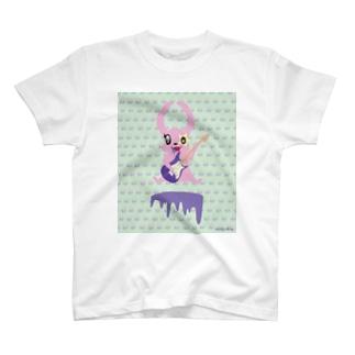 ポイズンうさぎ T-shirts