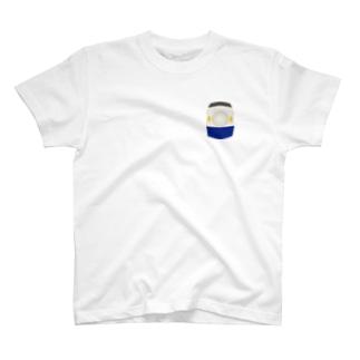 東海道0系 胸ワンポイント T-shirts