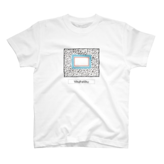 Mamey的甜蜜小店のMY SEKAI(青×朱) T-shirts