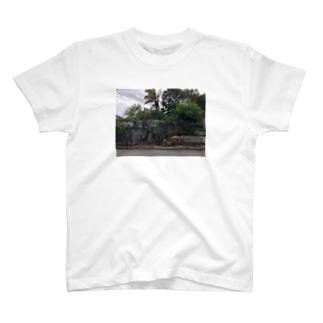 monologyのバックパッカーの思い出T@ジャマイカキングストン T-shirts