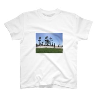 バックパッカーの思い出T@LA T-shirts