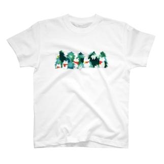 モミの木 Tシャツ