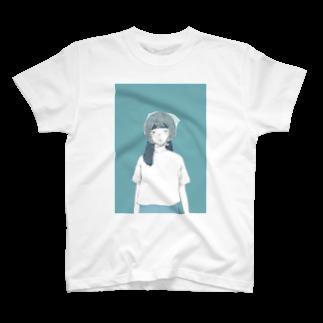 narobacoのレジ袋かぶってどうしたの T-shirts