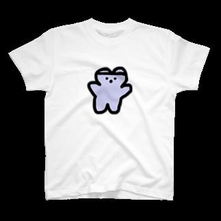 くまくま。ショップのくまくま。めるへんゆめぱーぷる(夢の中) T-shirts