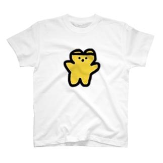 くまくま。はちみつフレーバー(りんごの花) T-shirts