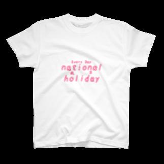 氷雨の祝日 T-shirts