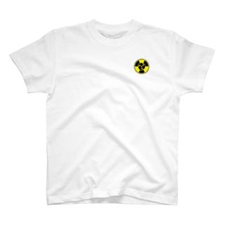 放射線に三つ巴 A T-shirts