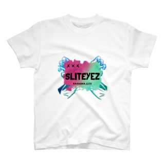 SLITEYEZ_officialstore_のSLIT EYEZ®️【CROSSARMS】 T-shirts