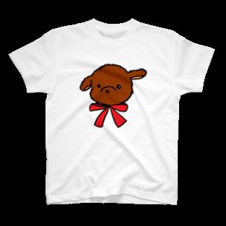 raraのトイプードル T-shirts