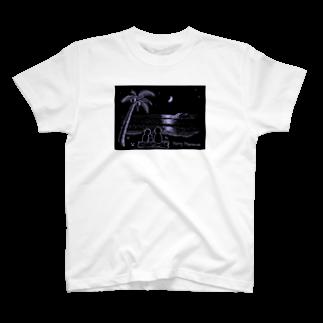 umishopのMonky night T-shirts