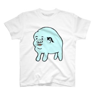 ハゲに抵抗する生き物 T-shirts