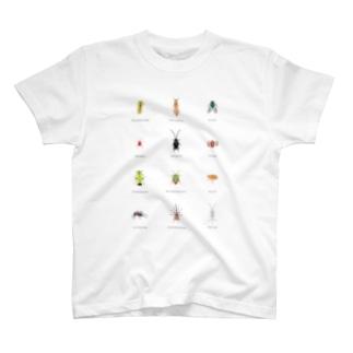 いきものづくしのガイチュー T-shirts
