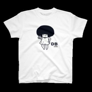 まるいひと。のDB(でぶ) T-shirts