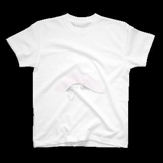 mogcccidanのねこちゃん T-shirts