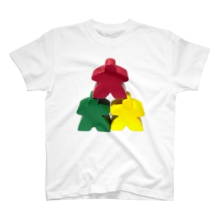 スリー・ミープルズ(おやま) T-shirts