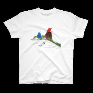 heidi1203の火山マグカップ T-shirts