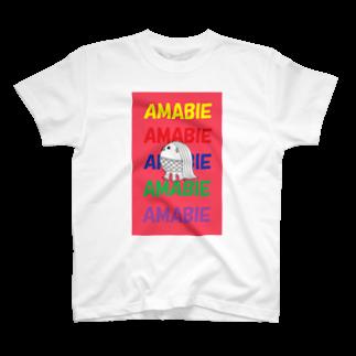 rioka24ki10のアマビエ祈願 T-shirts
