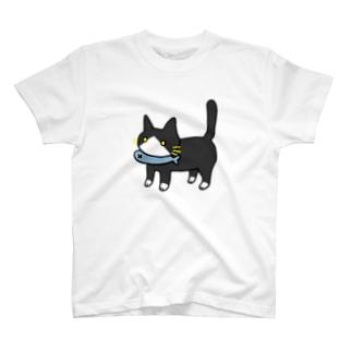 ハチワレねこさん T-shirts