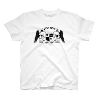 スカルハート01 T-shirts