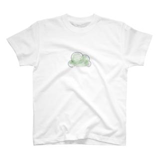 ブロッコリーのつぼみ T-shirts