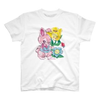 Ma cocotte スプリングバニー T-shirts