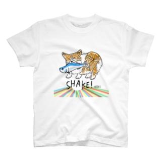 シャケコギTシャツ T-shirts