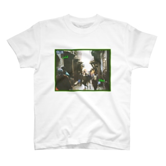 モロッコ:フェズ旧市街の迷路 Morocco: Maze of Fez (Fès) T-shirts