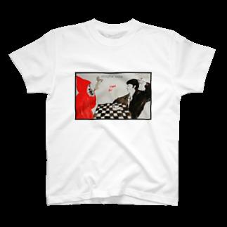 モロッコ商店のコーヒー&シガレッツ T-shirts