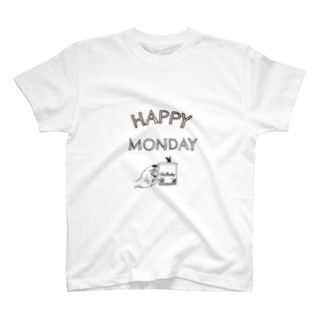 1week7days MONDAY T-shirts