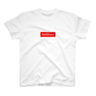 レッドシューズ T-shirts