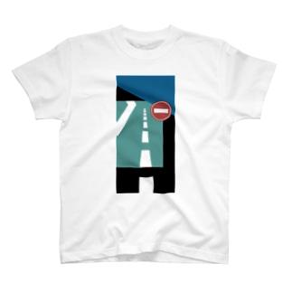 道路 T-shirts