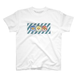柴犬信号(赤柴)  T-shirts