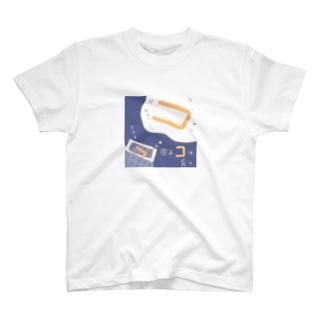 ちょりすけのナントカの寝るコは育つ T-shirts