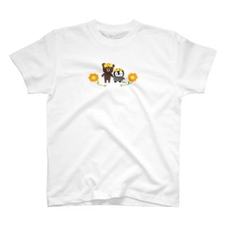 お花すぎぐま ころっぺ T-shirts