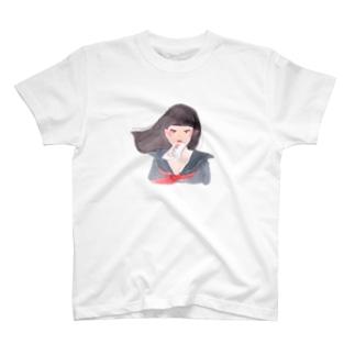果たし状ガール T-shirts