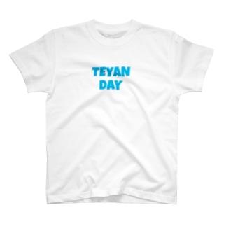 TEYANDAY みずいろ T-shirts