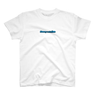 Heavy rotation ブルー T-shirts