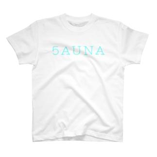 5AUNA サウナ SAUNA T-shirts