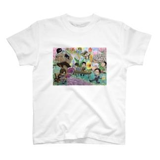 小さな世界 T-shirts