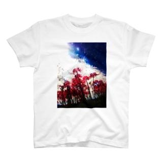 ただ在れば(彼岸花) T-shirts