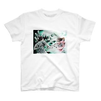 瀧夜叉と妖術 T-shirts