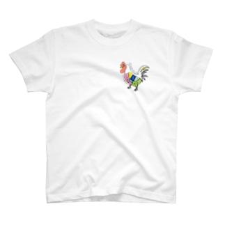 【鶏さん~いつもありがとう~】 T-shirts