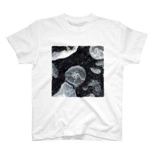 ルナ手描きデザイン1 T-shirts