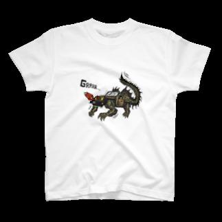 SAGO-PESHIROの4WD-DRAGON T-shirts